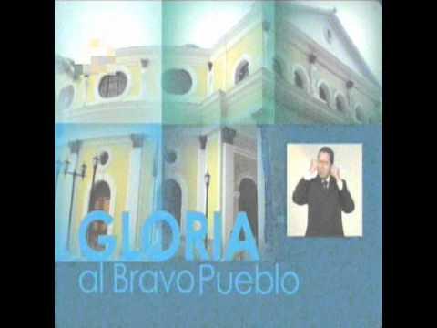 Himno Nacional de Venezuela Gloria al Bravo Pueblo - Venezuela National anthem Vocal