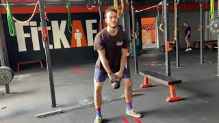 Kettlebell Russian Swing