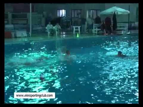 مباراة كرة الماء بين سبورتنج والاهلى عمومى رجال
