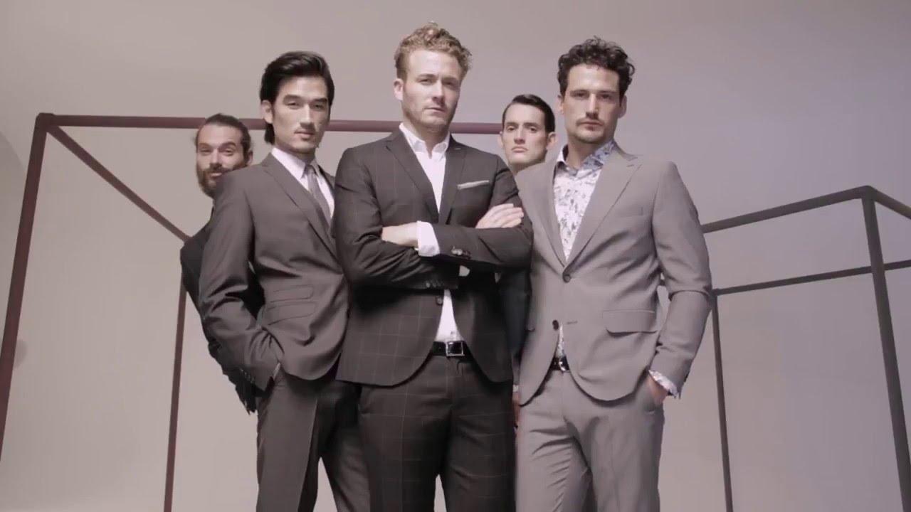 итальянские мужские костюмы brioni - YouTube