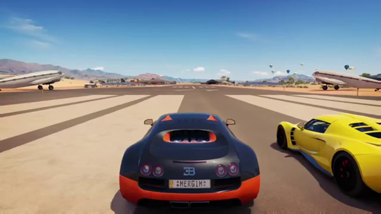 forza horizon 3 hennessey venom gt vs bugatti veyron ss youtube. Black Bedroom Furniture Sets. Home Design Ideas