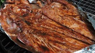 Pescado zarandeado (con salsas).-RecetasdeLuzMa