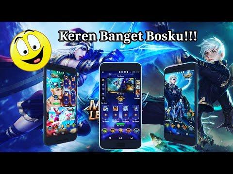Thema Keren Mobile Legends  Tanpa Buzz Launcher Full Icon