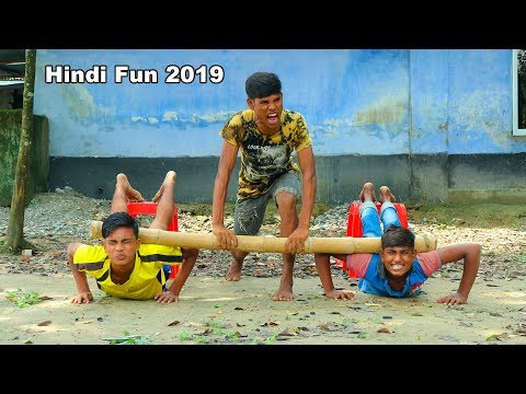 Indian New funny Video😄-😅Hindi Comedy Videos 2019-Episode-40--Indian Fun    ME Tv