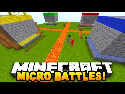 "Minecraft MICRO BATTLES ""THE END!"" #25"