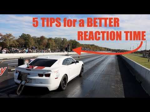 5 Tips For Better REACTION TIMES At The Drag Strip!