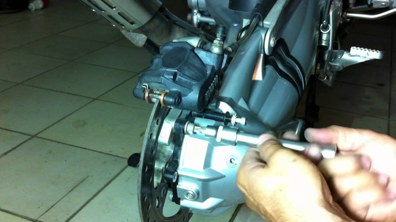 How To Change Brake Fluid >> Replace brake pads - YouTube