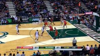 Marcin Gortat vs Milwaukee Bucks | 25 points, 8 rebounds | 27.11.2013