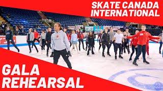 2019 Skate Canada International, Gala Rehearsal led by Elladj Balde