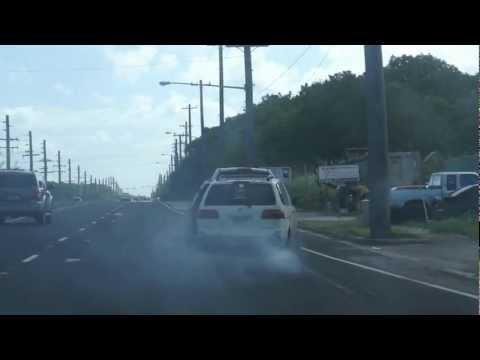 Dangerous Towing in Yigo, Guam