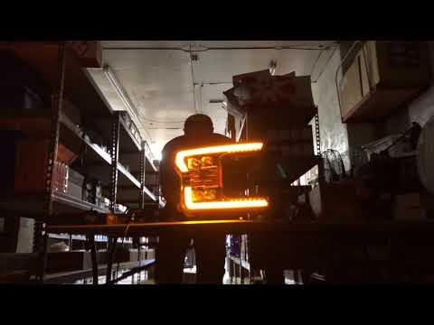AlphaRex NOVA Series LED Projector Headlight First Test