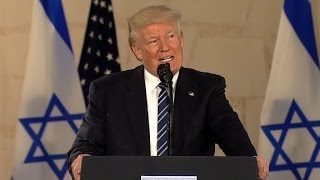 Trump gives remarks in Jerusalem (full speech)