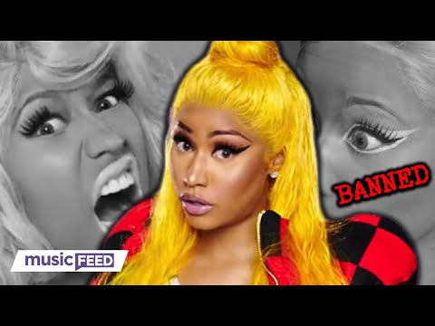 Nicki Minaj's Music Video BANNED From Networks For This Reason!
