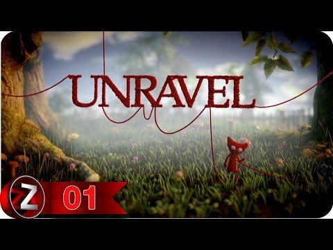 Unravel Прохождение на русском [FullHD|PC] - Часть 1 (Навстречу приключениям)