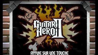 """[Xbox 360] Introduction du jeu """"Guitar Hero II"""" de RedOctane (2007)"""