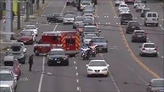 [Traffic Camera] Seattle Police Response Compilation #4