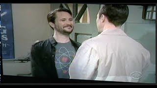 Wil Wheaton on the 11/2/17 Big Bang Theory episode