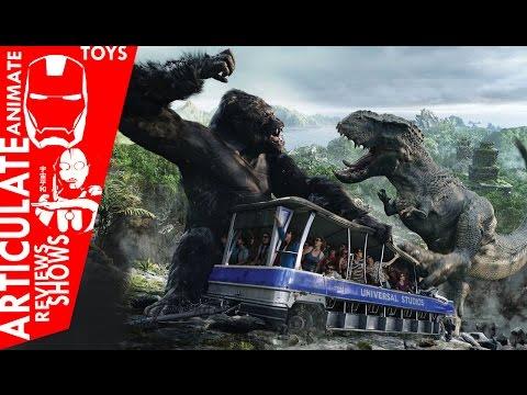❤❤❤ Kong Skull Island Rise of the King POV Adventure Ride ❤❤❤