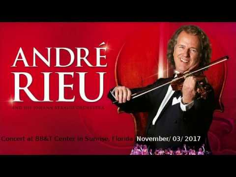 Andre Rieu Concert at BB&T Center in Sunrise Florida 11/03/2017