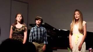 CHILDREN WILL LISTEN/ NO ONE IS ALONE/ NOT WHILE I'M AROUND: Mallory Bechtel