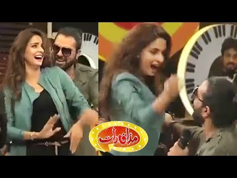 Saba Qamar Best Performance Dance, Singing - Mazaaq Raat