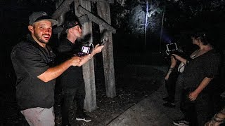 GHOST HUNTING IN HAUNTED FOREST AT 3AM! (Part 2 - Spirit Caught!)