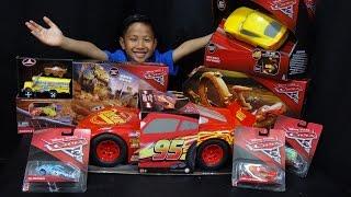 Mattel Disney Pixar Cars 3 Big Box Toy Unboxing Video!!!