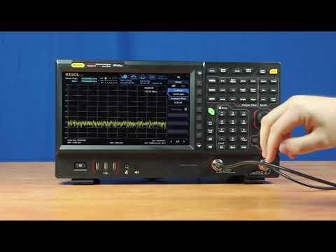 Benefits of the Tracking Generator Option: Rigol RSA5000 Series Spectrum Analyzers