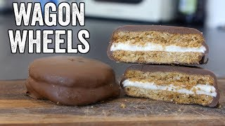 Homemade Wagon Wheels