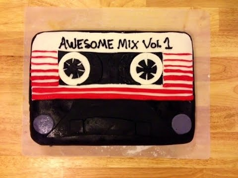 Guardians Of The Galaxy CAKE - Awesome Mix Volume 1