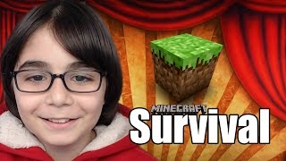 CHEST ODASI YAPIMI - Minecraft Survival Serisi #S1 #12