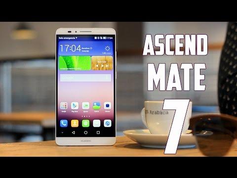 Huawei Ascend Mate 7, Review en Espa�ol