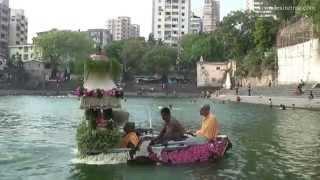 Nauka Vihar Festival 2014 at Baan Ganga Temple, Walkeshwar, Malabar Hill, South Mumbai