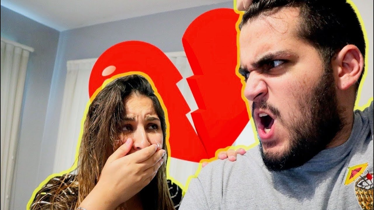 BREAK UP Prank on PREGNANT Girlfriend! - YouTube