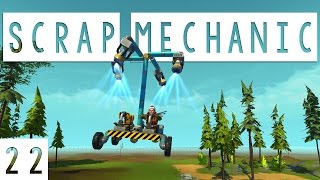 Scrap Mechanic Gameplay - #22 - Helicopter! - Let's Play