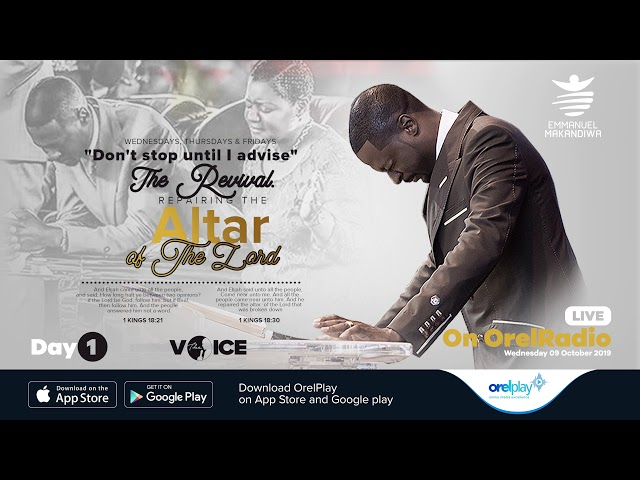 09 10 19   The Reparing Of The Altar of The Lord Rebroadcast 001