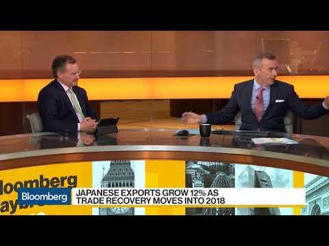 Japanese Exports Grow 12% - 19 Feb 18  | Gazunda