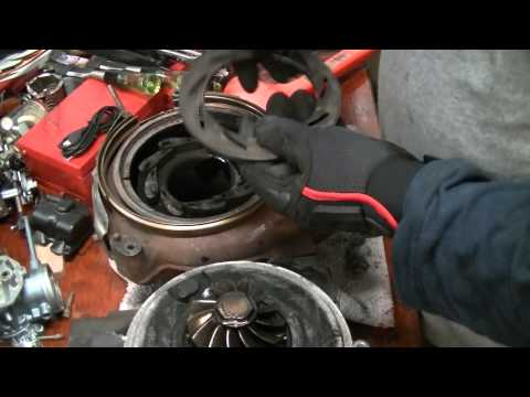 HowTo: Ford Powerstroke Turbo Disassembly and Cleaning (2005 F250 6.0L)