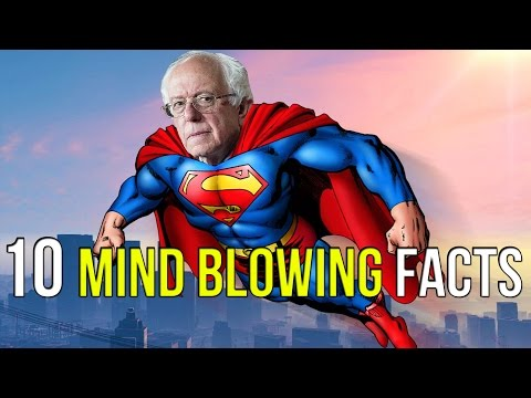 10 MIND BLOWING FACTS ABOUT BERNIE SANDERS