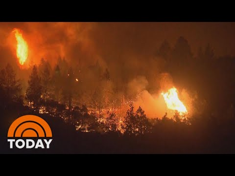 New Wildfires Erupt In Northern California Wine Country | TODAY