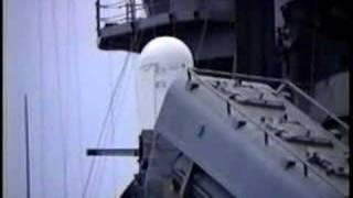 USS Missouri Gulf War Tomahawks