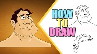 Speed Drawings : How To Draw A Wise Man