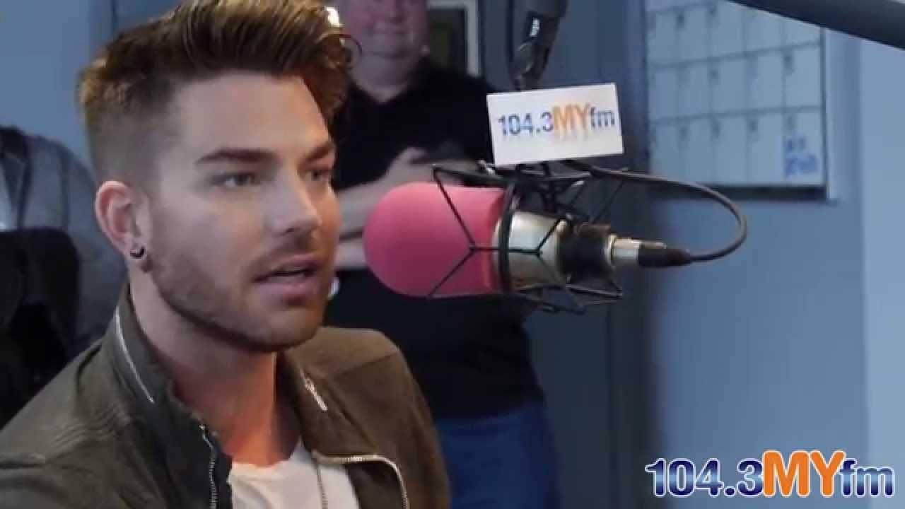 Adam Lambert   U0027Valentine In The Morningu0027 104.3 MYfm   YouTube