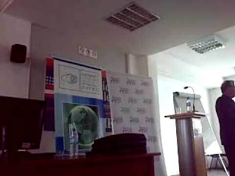 Lecture by prof. Walter Andrysyzyn 04.05.2009