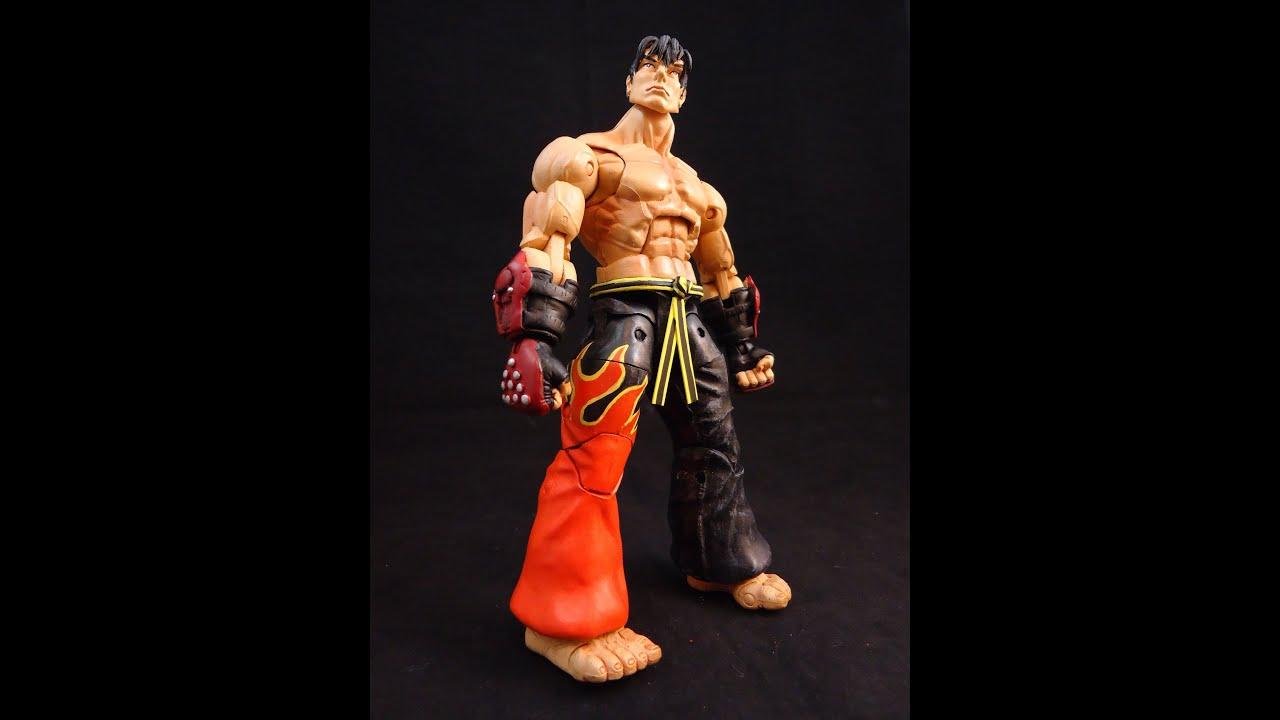 Custom Jin Kazama From Tekken Action Figure Review By Hunter Knight Customs Youtube