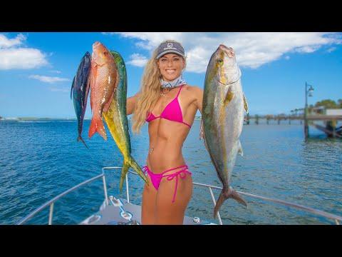 DEEP SEA Tuna, Mahi, Snapper & Amberjack! Stuart Florida Fishing Video!