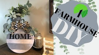 DOLLAR TREE FARMHOUSE DIY!!!