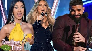 Cardi B RESPONDS about her dress Malfunction + Drake, Mariah Carey, & MORE (2019 Billboard Awards)