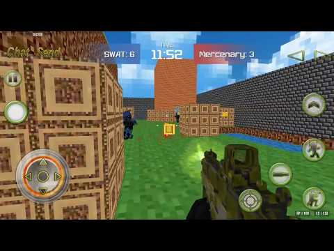 Combat Pixel Arena 3D - Mobile Playthrough
