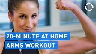 20-Minute At Home Arms Workout (Goodbye Arm Fat)